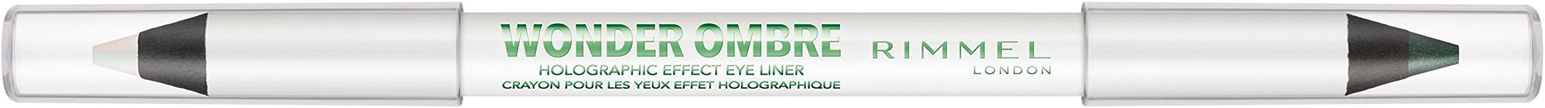 Rimmel Wonder Ombre Eye Liner, Galactic Green, 0.04 Ounce