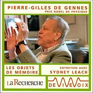 Couverture de Pierre-Gilles de Gennes