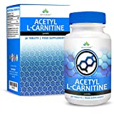 Acetyl L-Carnitine - 500mg Carnitine - L Carnitine Amino Acid - Suitable for Vegetarians - 90 Tablet (3 Month Supply) by Earths Design