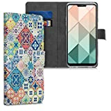kwmobile Wallet Case Compatible with LG G7 ThinQ/Fit/One -