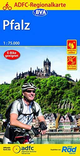 ADFC-Regionalkarte Pfalz, 1:75.000, reiß- und wetterfest, GPS-Tracks Download (ADFC-Regionalkarte 1:75000)