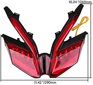 Tuning_Store Ducati 959 899 1299 1199 Panigale Integrated Tail Light Turn Signal 12V Universa Quality Accessories for Motorcycle Car Tuning