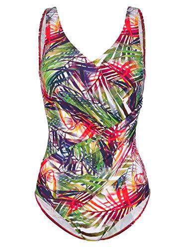 Maritim Damen Badeanzug im sommerlichen Tropicalprint 44