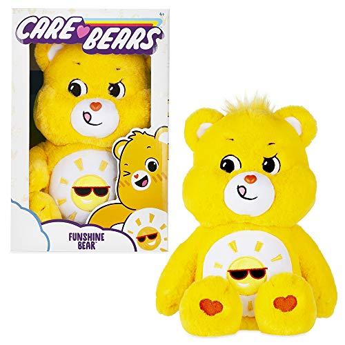 Care Bears Funshine Bear Stuffed Animal  14 inches