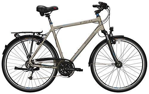 Trekkingbike Morrison T 5.0 Plus Herren 28' 27-Gang Magura HS11, Rahmenhöhen:XXL(65);Farben:Matt Titanium
