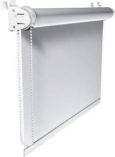 Victoria M. Klemmfix - Estor opaco para ventana (fijación sin taladrar) tamaño: 50 x 150 cm blanco