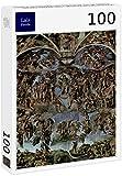 Lais Puzzle Miguel Ángel Buonarroti - El Juicio Final, Fresco en la Pared del Altar de la Capilla Sixtina 100 Piezas