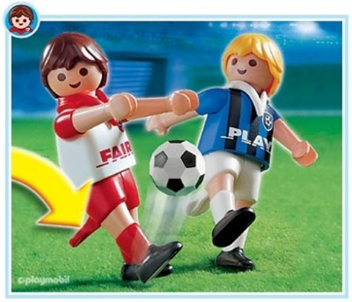 PLAYMOBIL® 4702 - 2 Fußballspieler