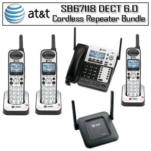 AT&T SB67118 Corded/Cordless Phone