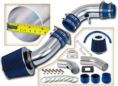 Rtunes Racing Short 25% OFF Ram Air Intake BLUE Kit Combo Filter Houston Mall Compa +