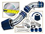 Rtunes Racing Short Ram Air Intake Kit + Filter Combo BLUE Compatible For 95-97 Ford Ranger / 95-97 Mazda B2300 2.3L L4