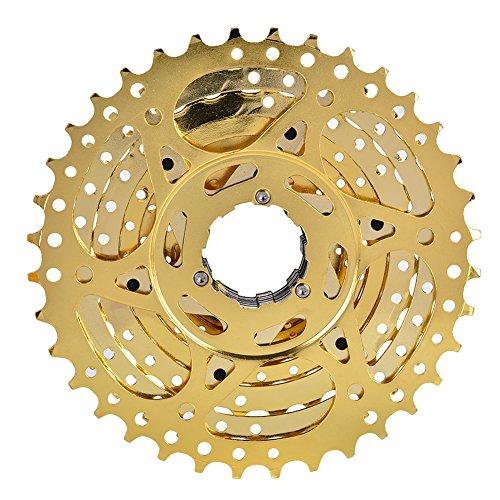 Jershal Freewheel-ZTTO Bike Freewheel Cassette Sprocket 10 S-Peed 11-36T Accesorio de Repuesto para Bicicleta