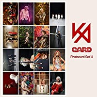 16PİECESギフトコレクションステーショナリーセット-Kpop防弾少年団-韓国紙カードフォトカードロモカード