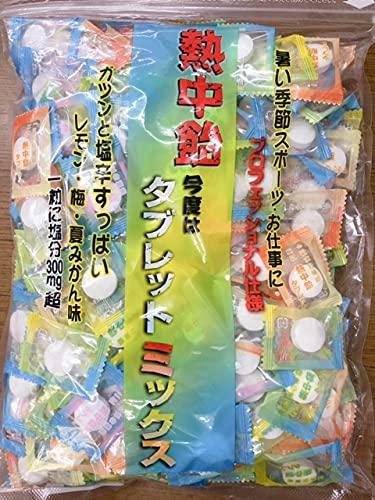 井関 620g 熱中飴タブレットミックス×3袋