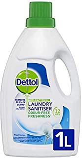 Dettol Antibacterial Laundry Sanitiser Fresh Cotton 1L,