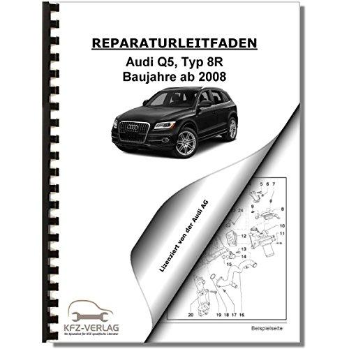 Audi Q5, Typ 8R (08>) Standheizung, Zusatzheizung - Reparaturanleitung