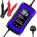 Car Battery Charger and Maintainer, 12V/6Amp Automatic Battery Charger with Charge, Maintain and Repair...