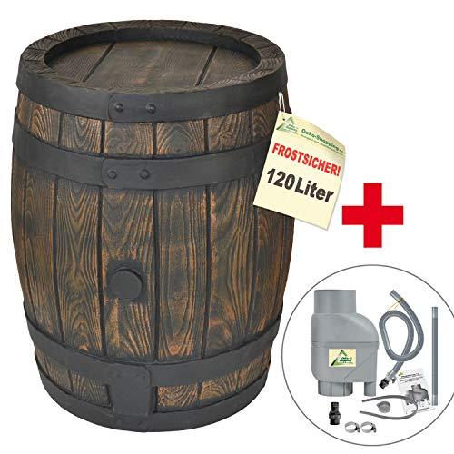 BARILE Acqua PIOVANA/Contenitore Acqua PIOVANA/RECIPIENTE Acqua PIOVANA con Filtro per Acqua PIOVANA T33 per Un RIEMPIMENTO Automatico, Serbatoio Acqua PIOVANA 120L