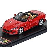 Bbr–Ferrari–Portofino–2017Coche de ferrocarril de Collection, bbrc207b, Rosso Corsa 322