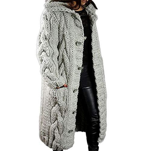 Chenlao7gou621 Cardigan Femme Grande Taille Pull Manteau Pull Cardigan VêTements pour Femmes
