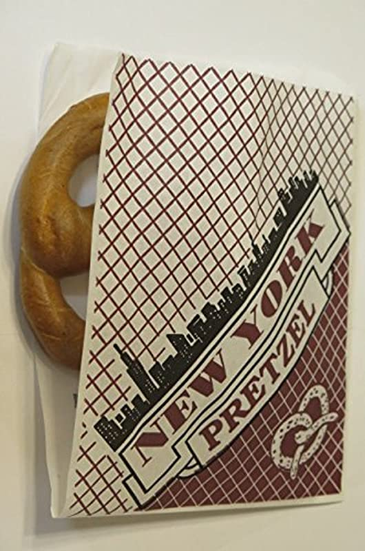 Large Size 9 X 7 Deli Wrap Double Opendry Waxed Paper Pretzel Bags Appx 100 Pack