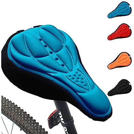 Radfahren Fahrradsattel Komfortable Silikon Gel Sitzbezug Kisse Soft Pad Tool