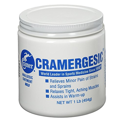 Cramergesic Mild Warmth Analgesic for Relief from Muscle Soreness, Aches, Joint & Arthritis Pain, Penetrating Pain Relief Cream Soothes Tight Muscles Before & After Workout, Exercise, or Fitness