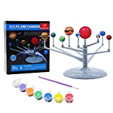 Building it your own planetarium,paint it, and Add Highlight to create the glow And effect. No Tools are required to assemble this awesome Solar System Kit Great assembling toy for children to practice and empower their brain as well as becoming educ...