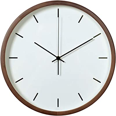 Clock Nordic IKEA Living Room Home Wall Charts Wall Clock Quartz Clock (Color : B