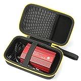 RAIACE Hard Travel Carrying Case for BESTEK 300W/Foval 150W Power Inverter Car Inverter-Black
