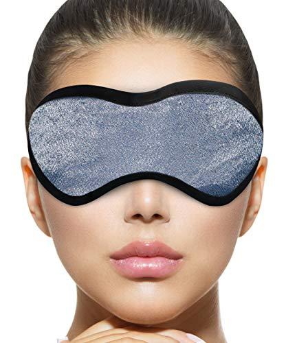 Dry Eye Mask, Warm Moist Heat Eye Compress, Stye Treatment a Premium, Professional Eye Compress, Machine Washable Cover and All Natural Eyelid Wipes.