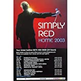 Simply Red - Home 2003 - Europe - Poster