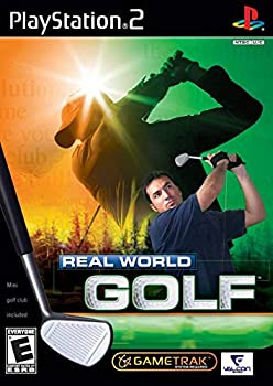 Real World Golf PlayStation 2 PS2 use with GameTrak