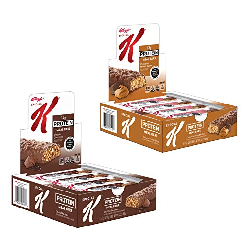 Kellogg's Special K Protein Meal Bars, Variety Pack, Double Chocolate,...