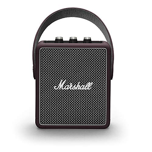Marshall Stockwell II Tragbarer Bluetooth Lautsprecher burgundy