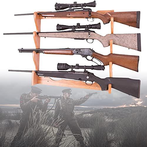 ZPCSAWA Soporte para Armas y Rifle, Almacenaje para Fuego, Soporte Versátil Soporte para Armas Soporte para Rifle/Escopeta, Soporte para Armas Colgador de Escopeta para Rifle