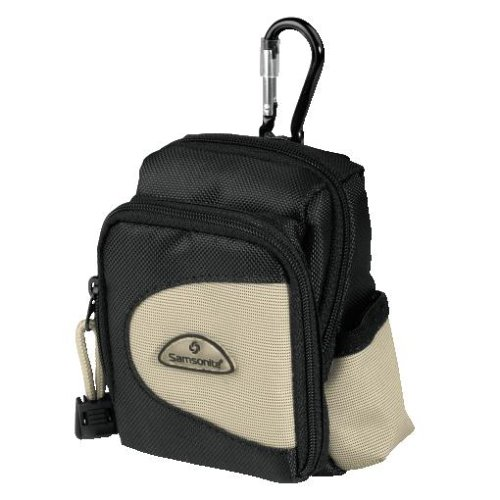 Samsonite Cámara Funda Nikosia DF 10, color negro/beige