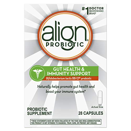 Align Probiotics Supplement, Gut Health & Immunity, 28 Capsules, Daily Digestive Support for Men & Women