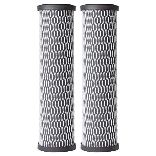 AO Smith 2.5'x10' 5 Micron Carbon Wrap Sediment Water Filter Replacement Cartridge - 2 Pack - For Whole House Filtration Systems - AO-WH-PRE-RCP2