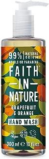 Faith In Nature Grapefruit and Orange Hand Wash 300ml