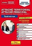 Concours Attaché territorial - Catégorie A - Tout-en-un : Concours externe, interne, 3e voie et examen professionnel 2020-2021 (Admis Fonction Publique)