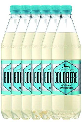 Goldberg Bitter Lemon 6 x 1,0 Liter