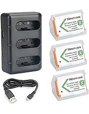 NP BX1 Newmowa zapasowa bateria (3-pak) i 3-kanałowa ładowarka USB do Sony NP-BX1 i Sony Cyber-shot DSC-RX100, DSC-RX100 II,DSC-RX100M II,DSC-RX100 III,DSC-RX100 IV, DSC-RX100 V, DSC-RX100 VII