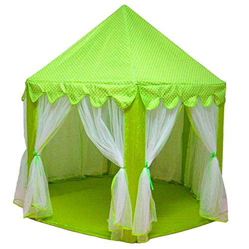 Changskj Eyebrow Tweezers Play Tent Play House Ball Pit Pool Portable Foldable Princess Folding Tent Castle Gifts Toys Tents (Color : C)