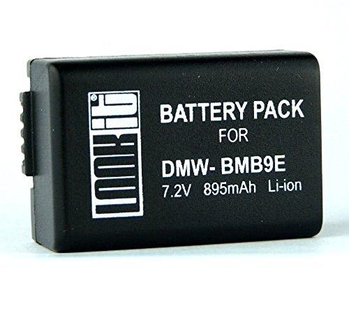 LOOKit Akku BMB9 E - für Panasonic Lumix DC FZ83 FZ82 FZ72 FZ62 FZ45 FZ48 FZ100 FZ150
