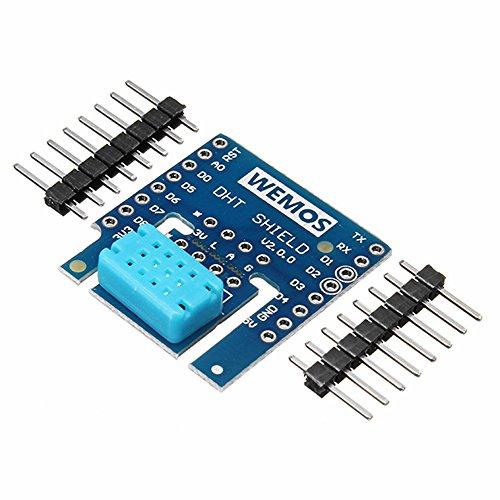 Ils - 5 Pièces DHT Shield V2.0.0 pour WEMOS D1 Mini DHT12 I2C Module numérique de Température et d'humid