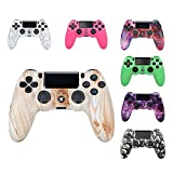AKAKKFK Controller per PS4 Controller Touch Panel con Doppia Vibrazione a Sei Assi e Audio Controller Wireless Gamepad Joystick per PS4/ PS4 Slim/PRO/ PS3