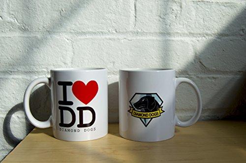 Diamond Dogs Coffee Mug I Love Diamond Dogs Metal Gear Solid Coffee Mug by ZanzibarLand