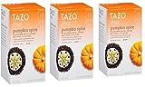 Tazo Chai Tea Pumpkin Spice 60 Bags (3 Pack)
