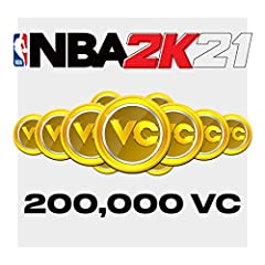 200,000 VC for NBA 2K21 There are more ways than ever before to spend your VC. Upgrade your MyPLAYER, buy MyTEAM packs to build your perfect fantasy team, and so much more!